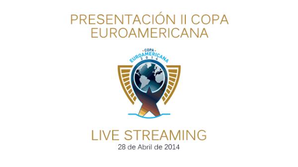 Logo de la II Copa Euroamericana