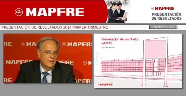 Presentación de resultados del primer trimestre de Mapfre