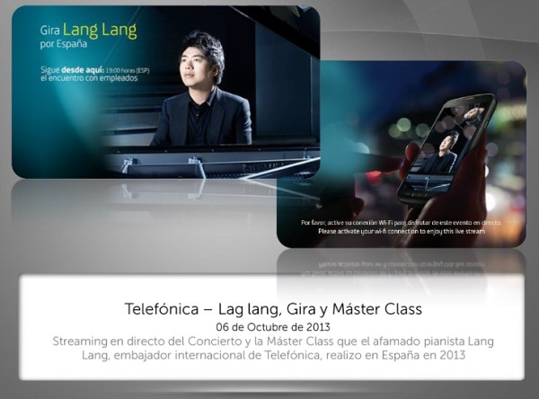 Lang Lang, mención especial en los Ondas 2014