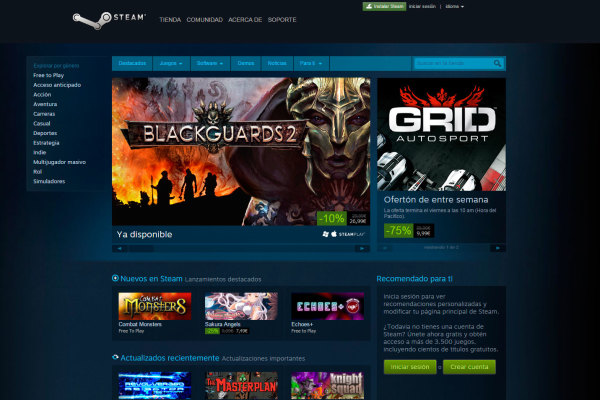 Steam tiene su plataforma de streaming