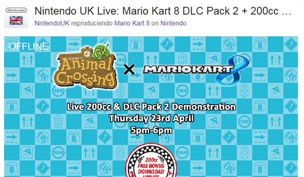 Así muestra Twith la presentación de Nintendo