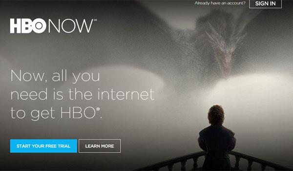 Bienvenidos a HBO Now