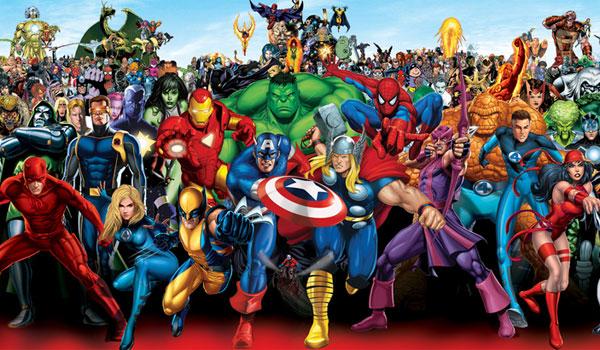 ¿Preparados para los personajes de Marvel?