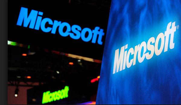 Imagen de un evento de Microsoft