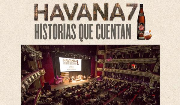 """Imagen de una cita anterior con """"Havana 7. Historias que cuentan"""""""